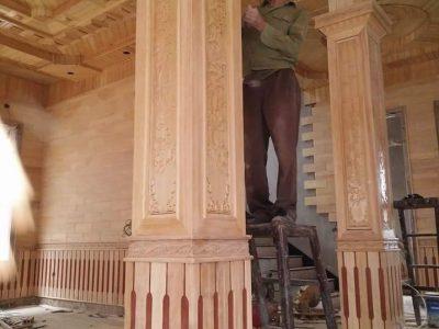 Công trình gỗ 4